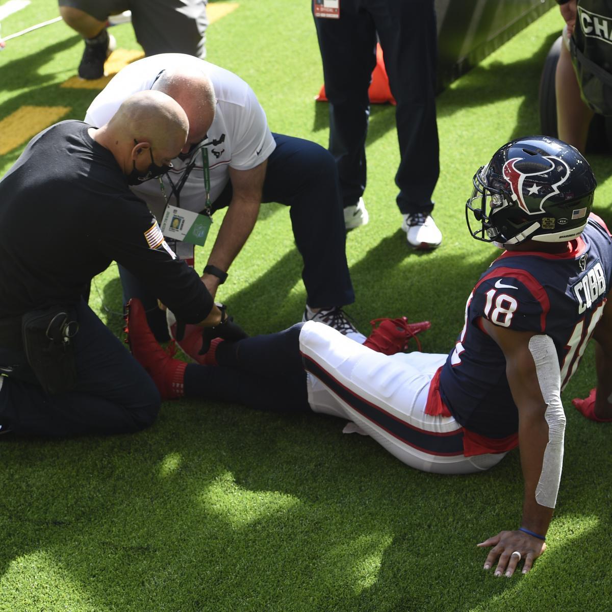 Rapportera: Texans 'Randall Cobb förväntas missa tid med' signifikant 'tåskada